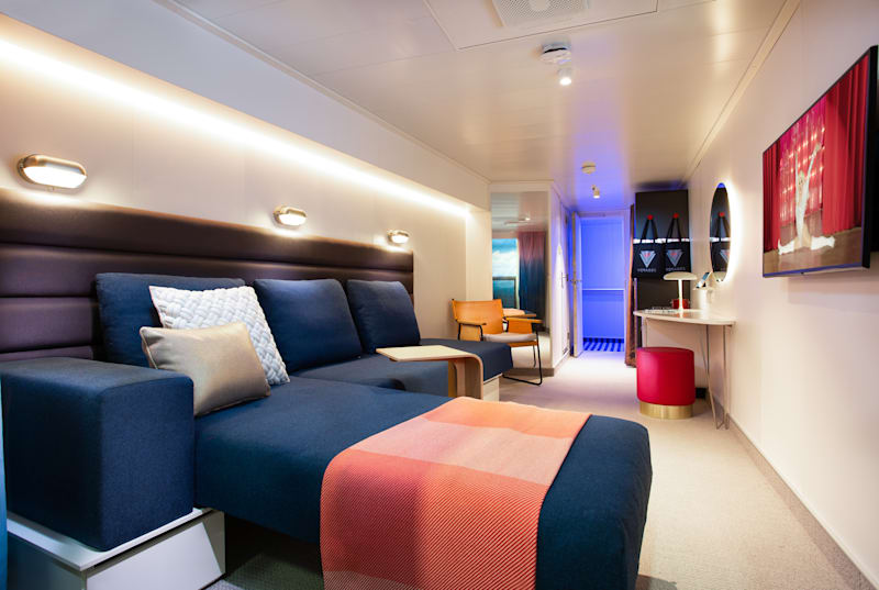 A Peek at the New Virgin Voyages Cabins